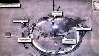 川普秀出伊朗火箭失敗衛星照 強調「和我無關」