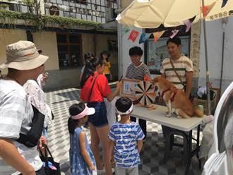 中市動保處到審計新村宣導友善寵物空間標章