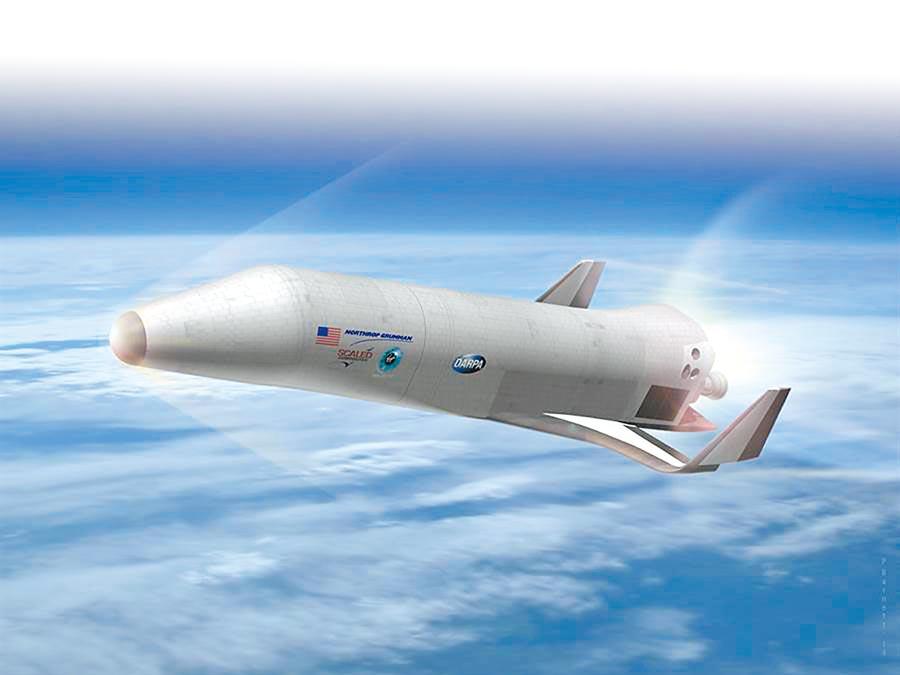XS-1是一種無人太空梭。(取自DARPA網站)