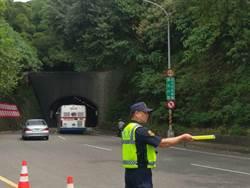 自強隧道區間測速執法 首日376件超速