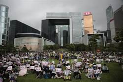 香港添馬公園三罷集會 限期港府下周五前回應訴求