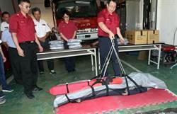 救人與被救都有尊嚴 消防員宋明哲研發打撈水流屍專用「福壽袋」