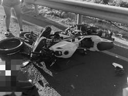 濱海公路重機、賓士對撞 1死1重傷