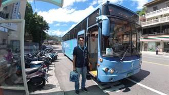 萬里內科跳蛙公車上路 基隆到內湖省40分鐘