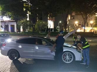 中市警方實施「靜城專案」9月擴大執行