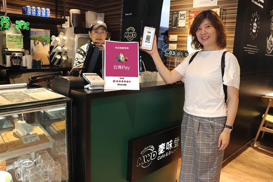 (華南銀行攜手麥味登,使用「台灣Pay」享20%優惠。 圖/華南銀行提供)
