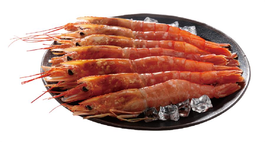 JASONS阿根廷特級L1天使紅蝦、天鑽白蝦、海老王草蝦,原價329元至799元,全面88折。(JASONS提供)