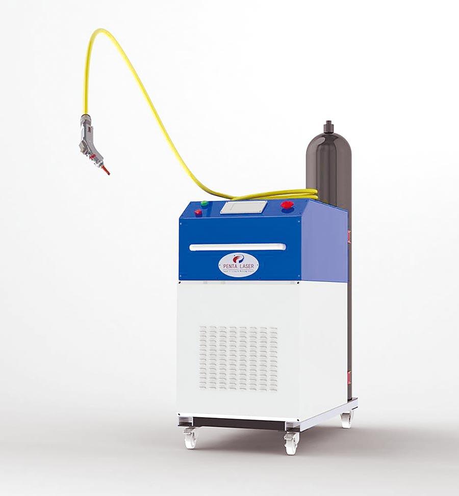 銓增精密公司發表一款純正義大利工藝技術的「奔騰激光-雷射焊接機」,無添加化學藥劑,在藥品及食品業的雷射焊接加工上,更為安全可靠。圖/業者提供