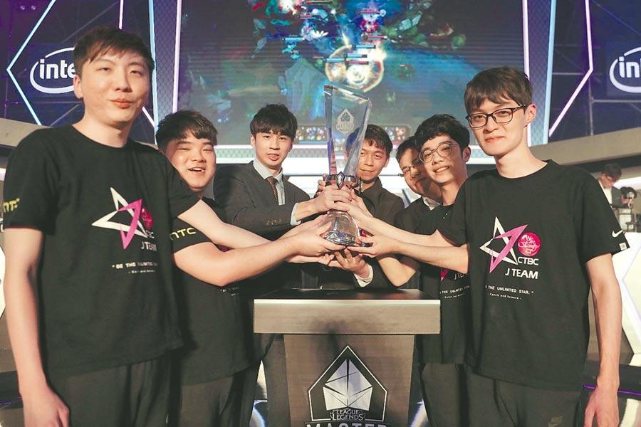 中國信託銀行冠名贊助的中信J Team奪下《英雄聯盟》2019LMS夏季總決賽冠軍,將以LMS第一種子出征S9世界大賽。(杰藝文創提供)