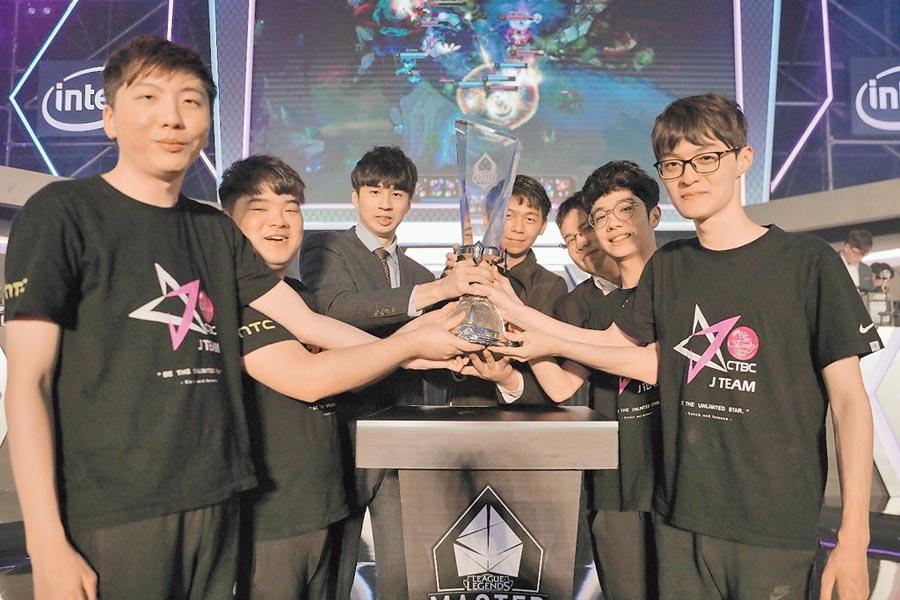 中國信託銀行冠名贊助的中信J Team奪下《英雄聯盟》2019 LMS夏季總決賽冠軍,將以LMS第一種子出征S9世界大賽,同時亦代表臺灣躍上世界舞臺。(杰藝文創提供)