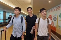黃之鋒訪台尋支持 盼今天台灣、明天香港
