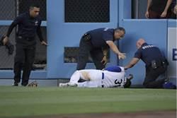 MLB》打傷主審 道奇洛磯大混戰