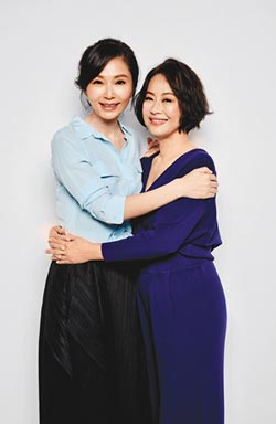 張玉嬿和謝祖武妻變朋友 妙喻舊愛像遠親