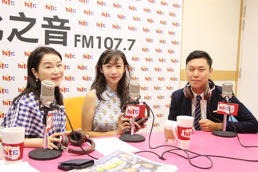 許淑華與李問接受電談專訪。(Hit Fm《周玉蔻嗆新聞》製作單位提供)