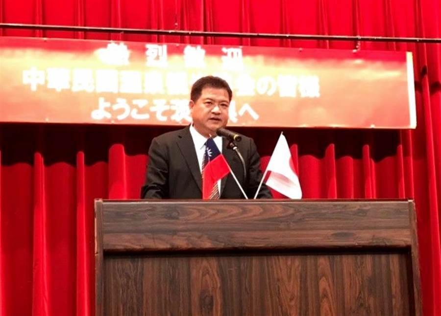 ▲中華民國溫泉觀光協會總會長李吉田期待藉此交流機會,能吸引更多日本遊客來台觀光、泡溫泉。(溫泉協會提供)
