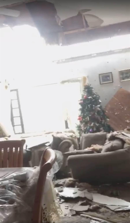 颶風多利安在巴哈馬群島造成嚴重災情。(圖/路透社)