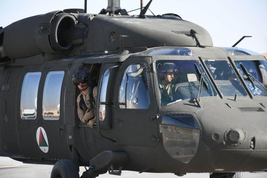 UH-60黑鷹直升機的雨刷。(圖/美國陸軍)