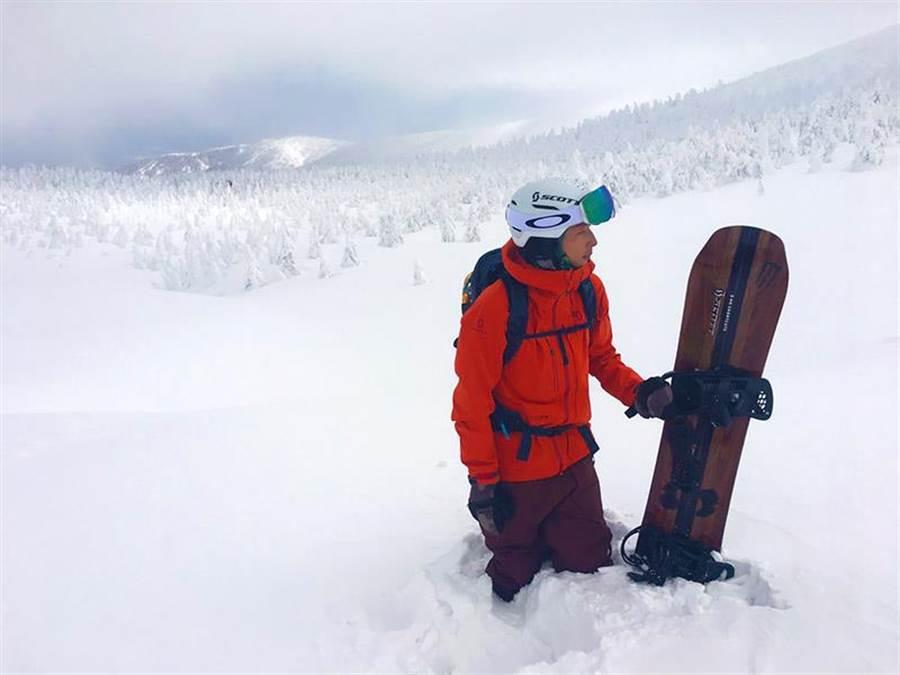 易遊網邀請旅遊節目主持人賴俊龍在10月19日舉辦「滑雪初心者講座」。(賴俊龍提供)