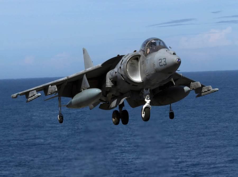 AV-8B海獵鷹式垂直起降戰機。(圖/美國海軍陸戰隊)