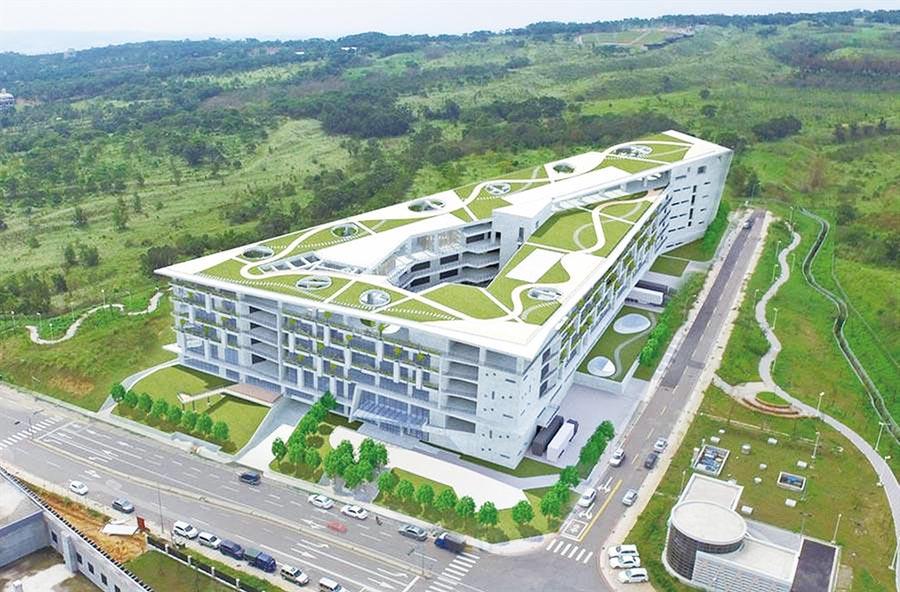 台中市精密機械園區二期標準廠房採租售並行。圖/台中市政府提供