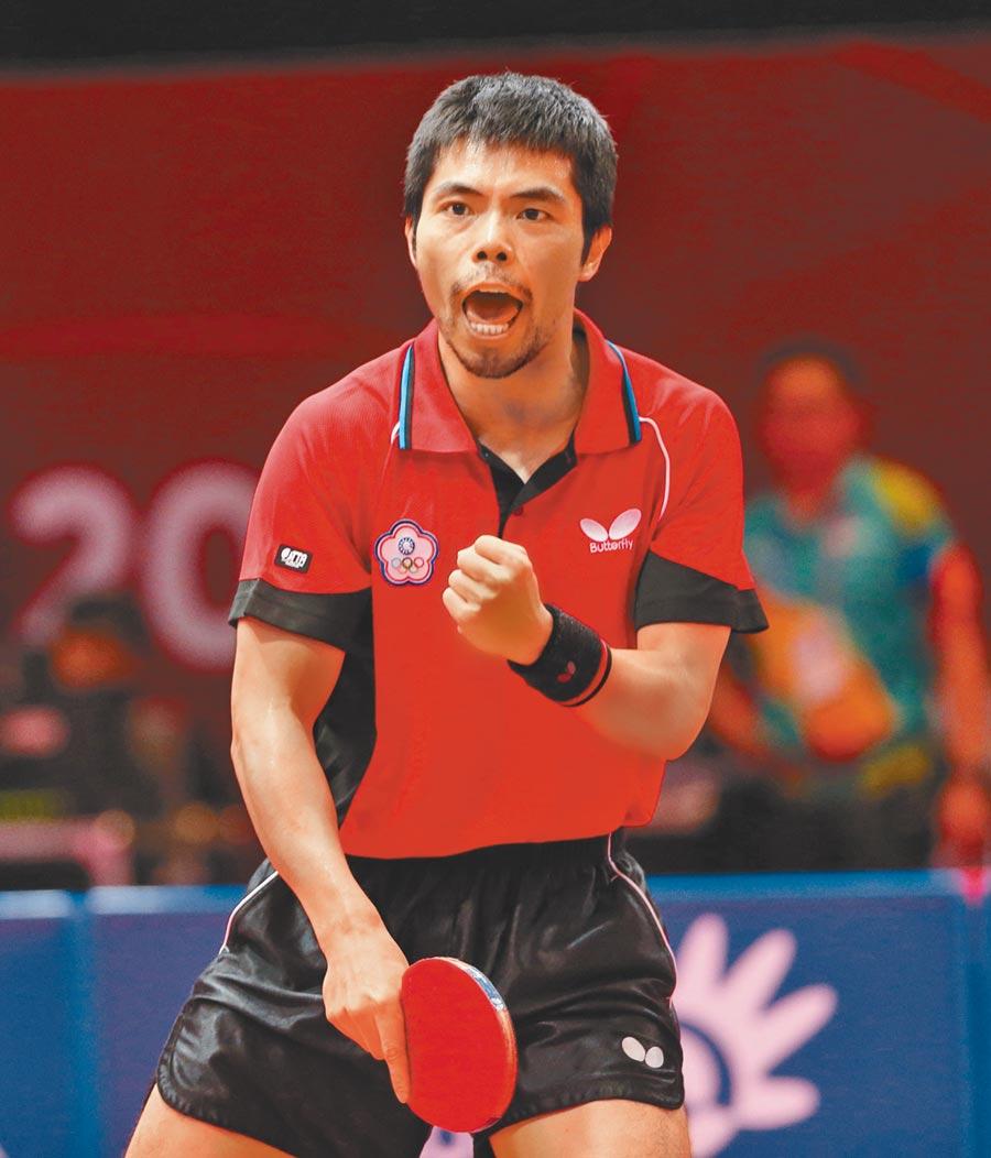 台灣桌球選手莊智淵憤而退出東京奧運,莊智淵多次為了國家負傷上陣,卻沒得到應有的尊重。(本報資料照片)