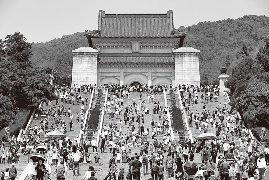 南京中山陵。(新華社資料照片)