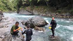 烏來6歲男童遭溪水沖走9天 上午警消尋獲遺體