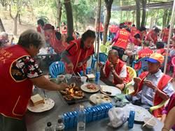 華山基金會為弱勢老人舉辦千歲烤肉會