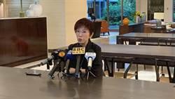 挺韓站台 洪秀柱:韓國瑜是民主程序提名的參選人