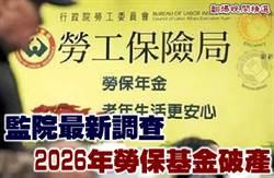 《翻爆晚間精選》監院最新調查 2026年勞保基金破產