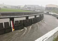 中市抽水站全數進駐防豪雨 中興抽水站下午開始抽