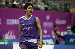 韓國賽拚衛冕 周天成首戰迅速晉級