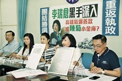 國民黨全面對黑韓開戰!司法提告止謗 追究氣爆善款流向