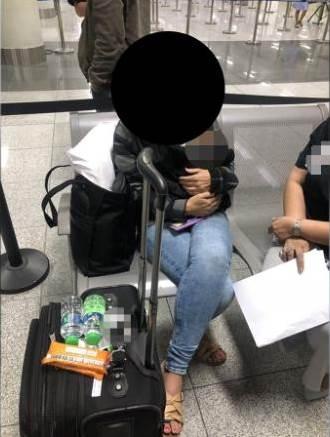 美女子將初生嬰藏手拉行李箱菲機場闖關被捕
