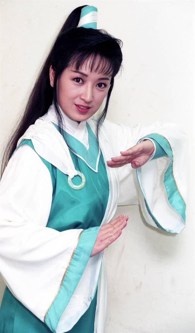 龔慈恩年輕時被認為美貌不輸趙雅芝。(本報系資料照)