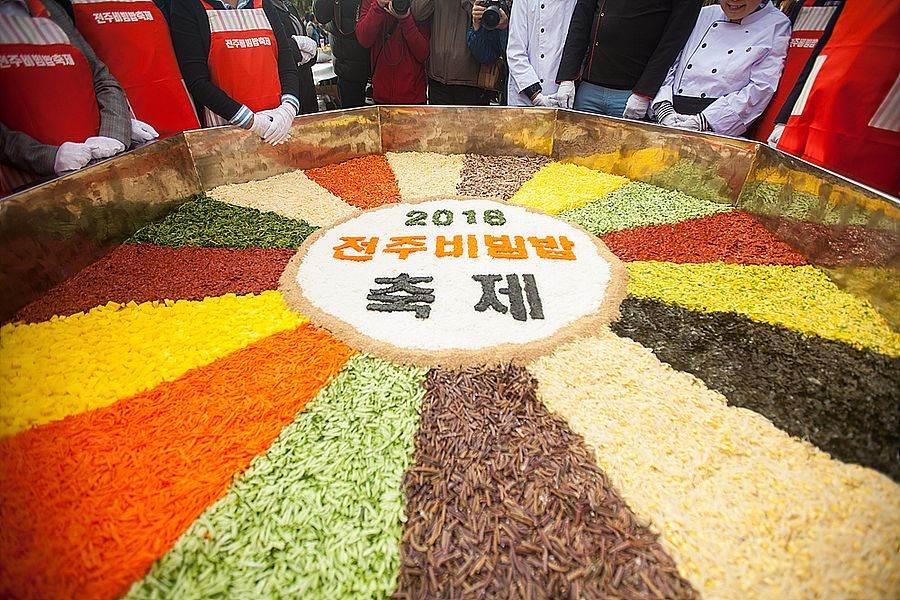 全州拌飯節。(圖取自Free@KOREA網站)