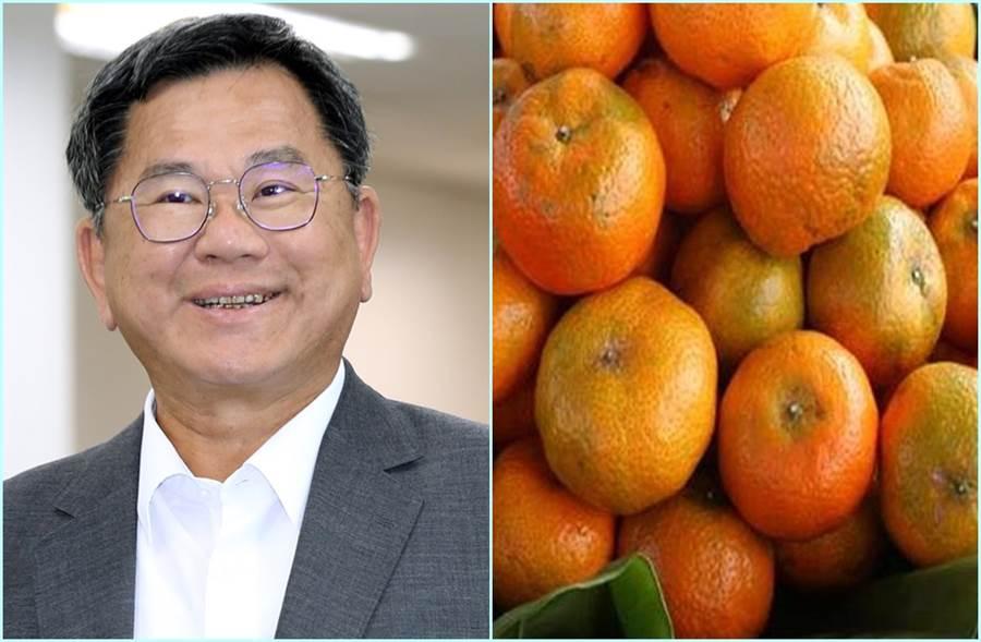 民進黨立委陳明文跟橘子有何關係?(中時資料照)