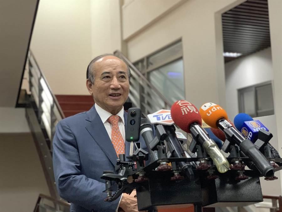 前立法院長王金平。(王金平辦公室提供)
