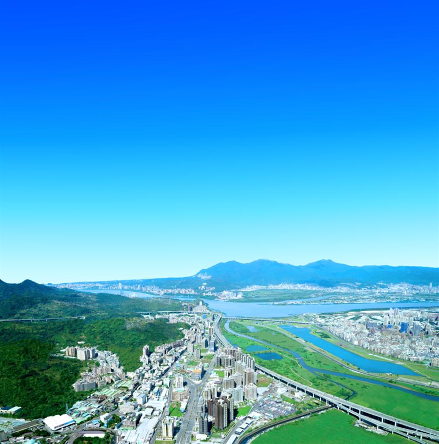 洲子洋重劃區緊鄰面積424公頃大台北都會公園。(圖/業主提供)
