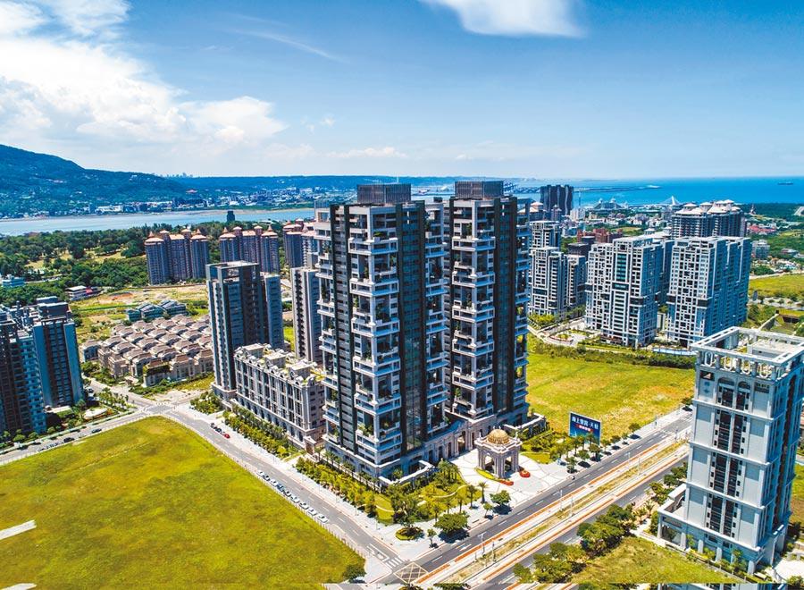 位在淡海新市鎮、甲山林自建的「天藝」也傳有港澳富豪購置。(甲山林提供/王莫昀傳真)
