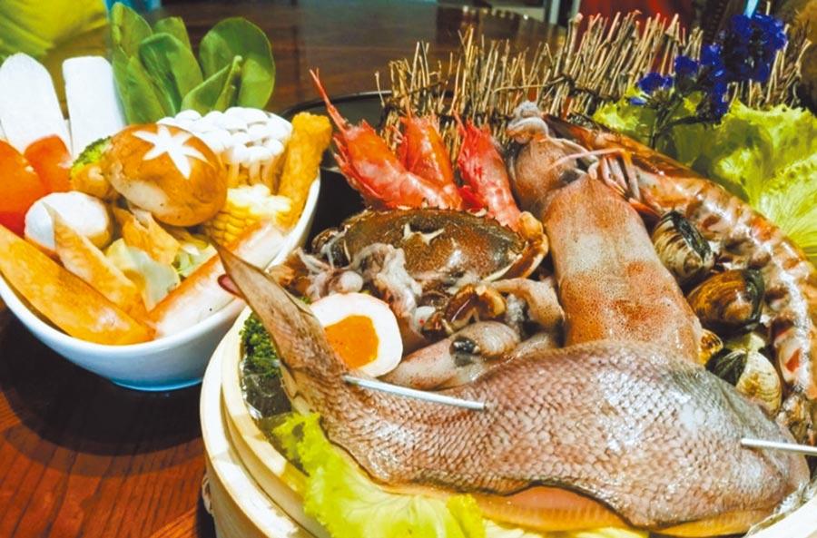 秋冬是基隆漁獲最肥美的時節,市府歡迎民眾來基隆大啖漁夫鍋。(基隆市府提供/許家寧基隆傳真)