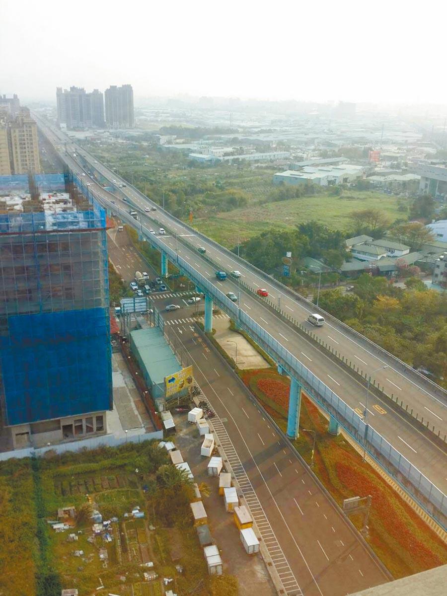 New Skyrider原規畫沿台65打造空中自行車廊道。(新北城鄉局提供/葉德正新北傳真)