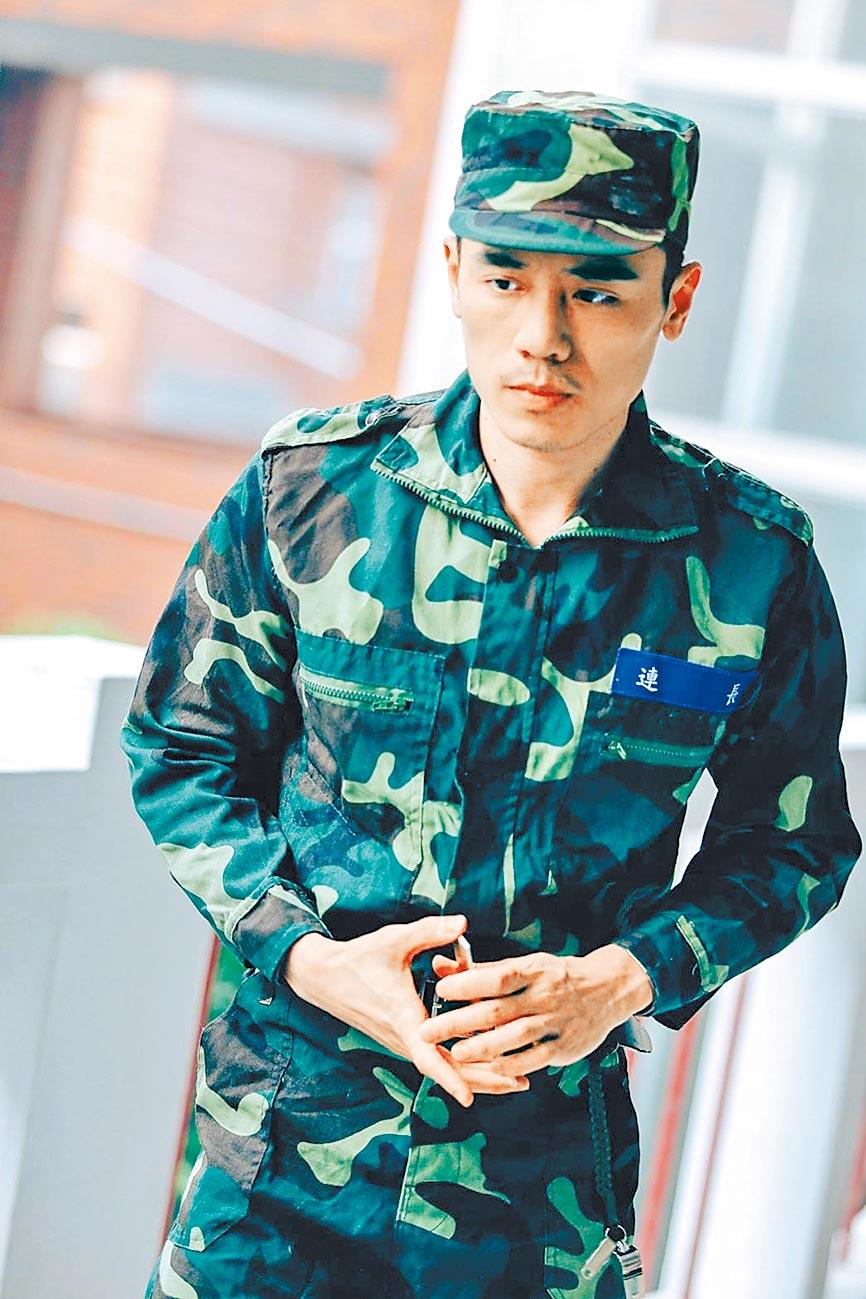 邱志宇演過軍人,這次教召回部隊又再重溫一次部隊生活。(邱志宇提供)