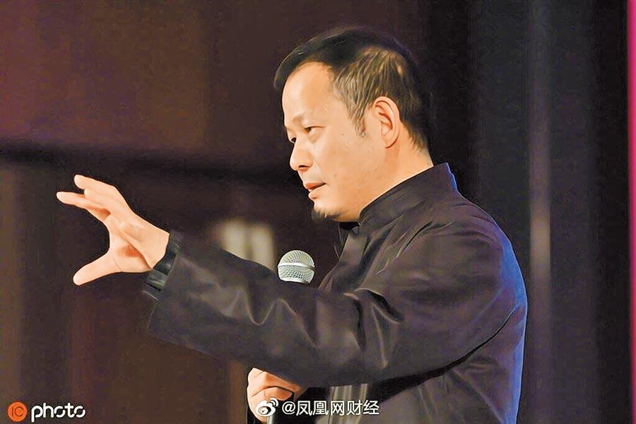 上海灘大佬、證大集團創始人戴志康。(取自微博@鳳凰網財經)