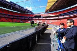 台中巨蛋何時孵出來?盧秀燕取經倫敦溫布利球場