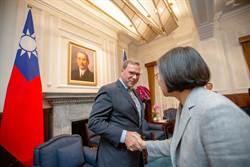總統盼透過簽署台美雙邊貿易協定 深化雙方夥伴關係