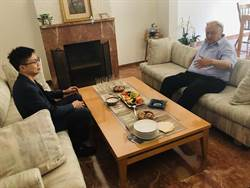 黃志芳會晤以色列科技創業之父 力邀來台參與COMPUTEX