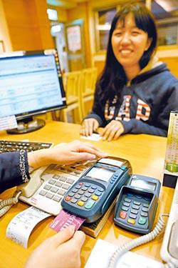 刷卡淨手收 中信上半年最賺