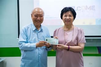 參訪亞大網癮防治中心朱英龍捐百萬