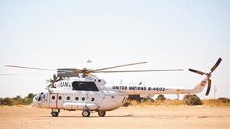 雄鷹出征 陸直升機赴蘇丹維和